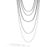 John Hardy Women's Classic Chain Five Row Necklace in Sterling Silver