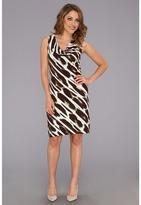 Tommy Bahama Leopard Daze Dress (Brazil Nut) - Apparel