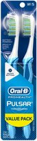 Oral-B Oral B Pulsar Soft Bristle Twin Pack Toothbrush - 2 ct