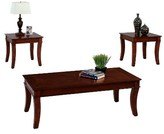 Progressive Corona Occasional Table Set - Medium Cherry Furniture