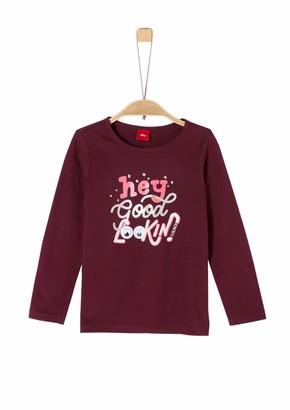 S'Oliver Girls' 53.909.31.8952 Longsleeve T - Shirt
