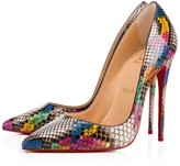 Christian Louboutin So Kate 120 Ultra Rose-Multi Python - Women Shoes
