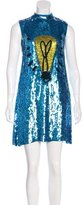 Au Jour Le Jour Embellished Light Bulb Dress