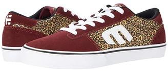 Etnies Calli-Vulc (Burgundy/Tan) Women's Skate Shoes