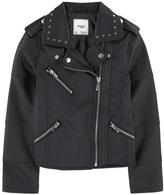 Mayoral Imitation leather biker jacket