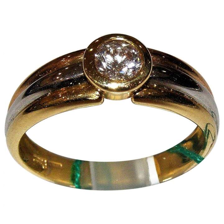 Damiani Yellow gold ring