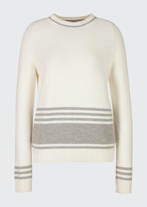 Loro Piana Thompson Striped Cashmere Sweater