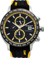 Gant Globetrotter, Gents, Yellow Highlights And Black Rubber