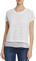 Foxcroft Emery Layered Look Top