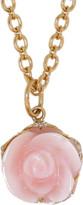 Irene Neuwirth Jewelry Pink Opal Flower Pendant