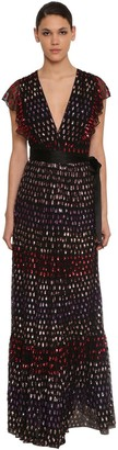 Temperley London Sequin Embellished Long Dress