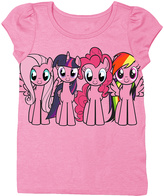 Freeze Pink My Little Pony Group Tee - Toddler