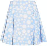 Kenzo Printed crepe mini skirt