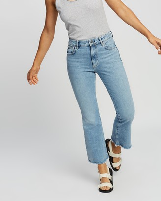 AllSaints Daisy High-Rise Kick Flare Jeans