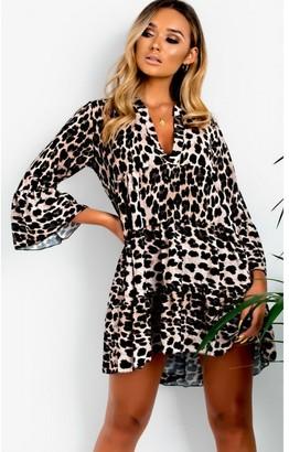 Ikrush Layla Printed Smock Dressss