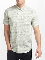 Carhartt WIP Camo Short Sleeve Shirt, Green