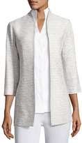 Misook Spring Silver Linings Jacket, Plus Size
