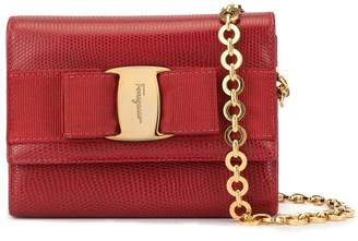 Salvatore Ferragamo Pre-Owned Vara Chain 2way bag