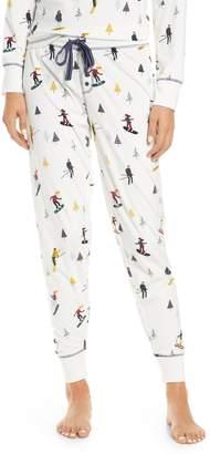 PJ Salvage Apres Ski Velour Pajama Pants
