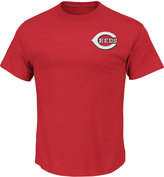 Majestic Men's Cincinnati Reds Team Wordmark T-Shirt