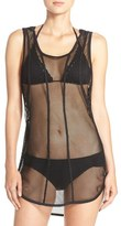 Zella Hooded Mesh Cover-Up
