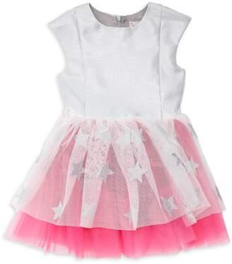 Halabaloo Little Girl's & Girl's Star Tulle Dress