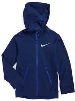 Nike Boy's Dri-Fit Hyper Fleece Hoodie