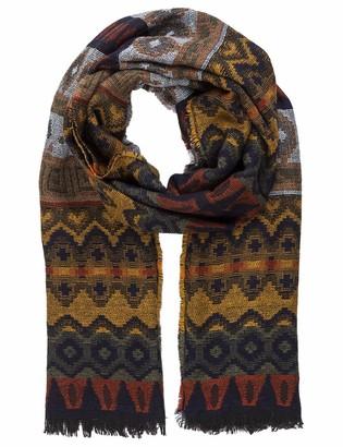 APART Fashion Women's Mixed Pattern Woven Shawl Scarf