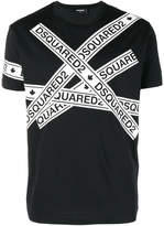 Dsquared2 logo strip T-shirt