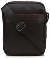 Jeff Banks Black Textured Cross Body Bag