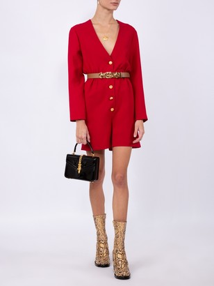 Gucci Red Short Jumpsuit