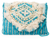 Antik Batik Dari Embroidered Cotton Convertible Clutch