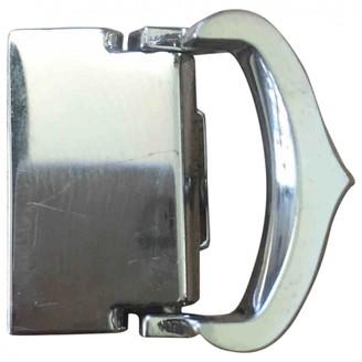 Cartier Silver Metal Belts