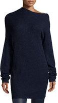 Elizabeth and James Brady Oversized Wool-Blend Sweater, Royal