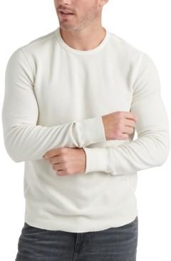 Lucky Brand Men's Long-Sleeve Topstitched T-Shirt