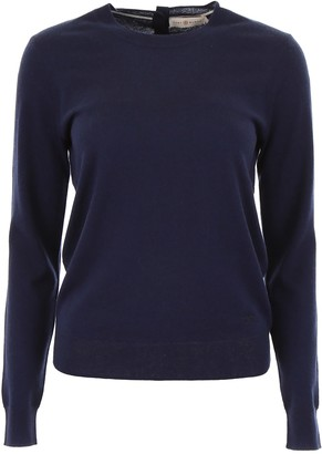 Tory Burch Cashmere Pull With Buttons