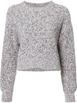 Alexander Wang crew neck jumper - women - Cotton - S
