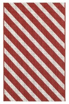 """Threshold Holiday 30""""x50"""" Outdoor Rug- Candy Stripe"""