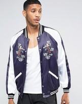 Jaded London Souvenir Bomber Jacket