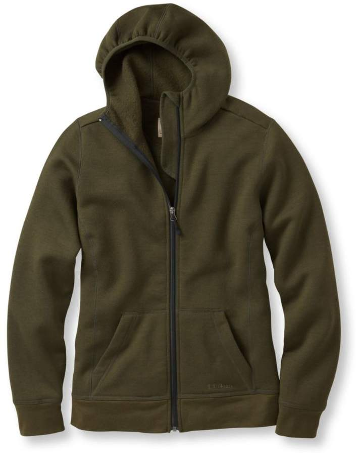 ce6877bf74041 L.L.Bean Women's Merino Wool Hooded Sweatshirt