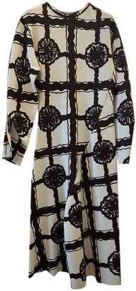 Celine Beige Viscose Dresses