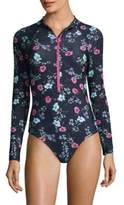 Shoshanna One-Piece Floral Swimsuit
