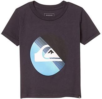 Quiksilver Slab Logo Screen Tee (Toddler/Little Kids) (Parisian Night) Boy's Clothing