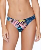 Thumbnail for your product : Raisins Juniors' Whitehaven Bloom Printed Triple-Side Bikini Bottoms Women's Swimsuit
