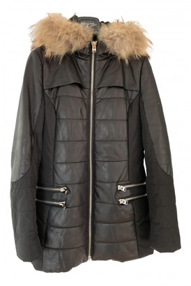 Hotel Particulier Black Leather Coats