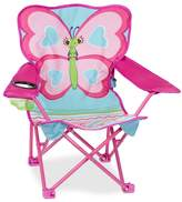 Melissa & Doug Outdoor Cutie Pie Butterfly Camp Chair