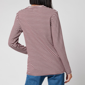 Superdry Women's Stripe Graphic NYC Top