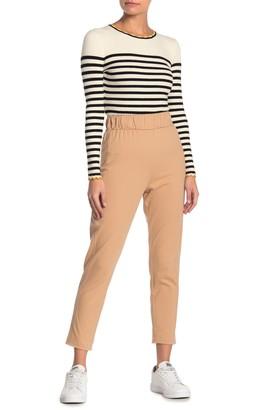 Dee Elly Contrast Stitch Capri Pants