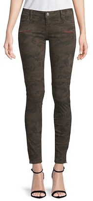 Etienne Marcel Camouflage Moto Jeans