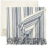 Pacific Coast Textiles Racer Stripe Cotton Throw - 50 x 60